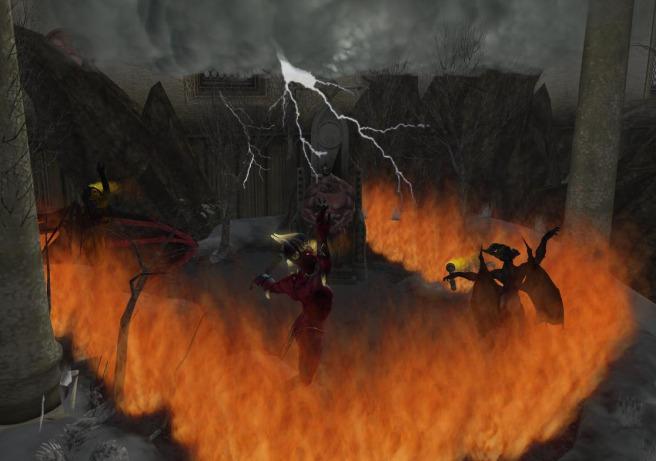 Satan plots revenge